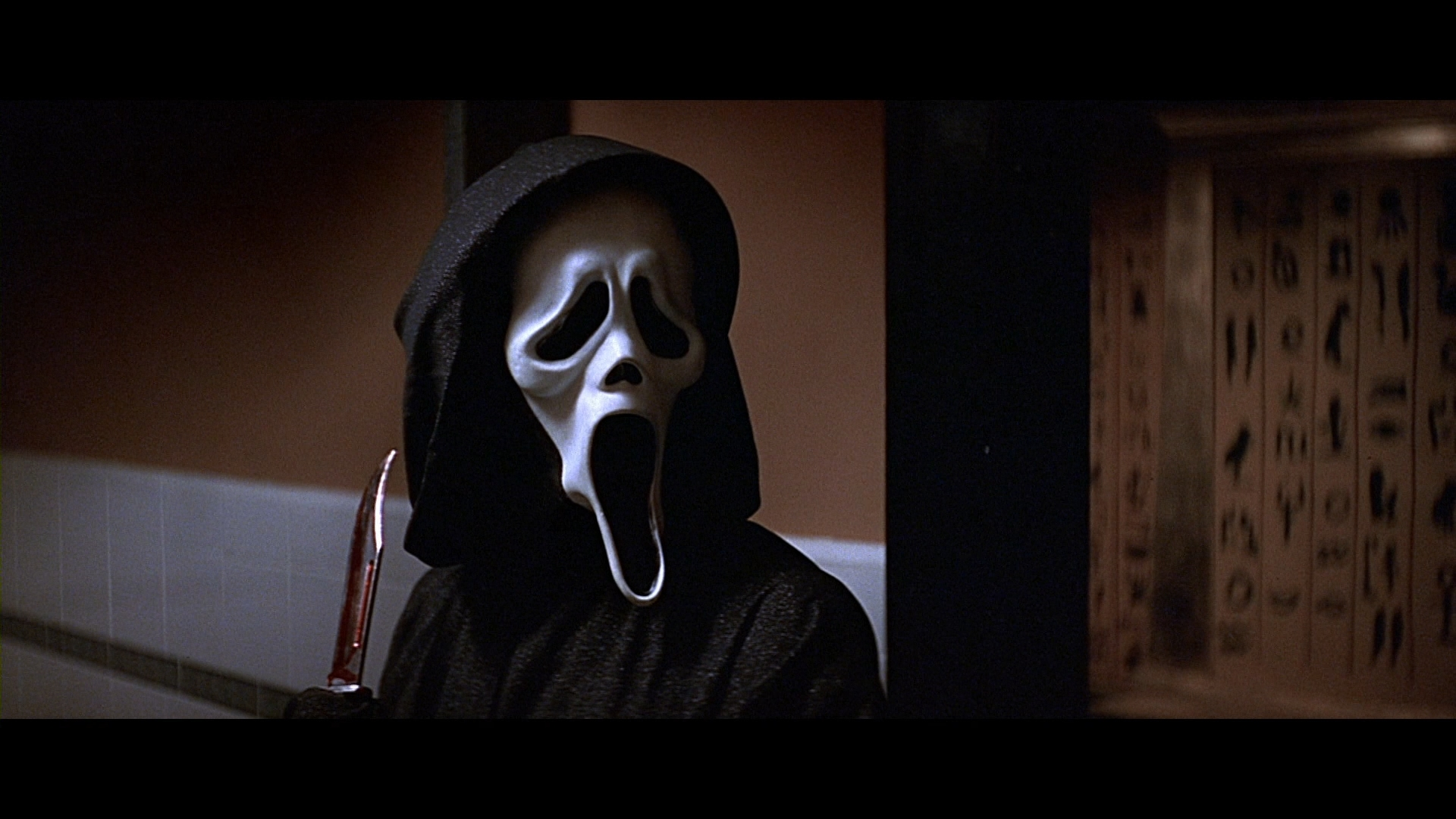 Scream bathroom scene