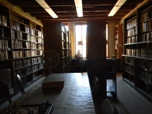 Nothing makes me want to write as much as the Ghost Ranch library...